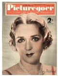 Mary Pickford on the cover of Picturegoer (United Kingdom) - December 1936
