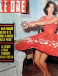Lea Massari on the cover of Le Ore (Italy) - October 1962