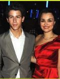 Nick Jonas and Samantha Barks