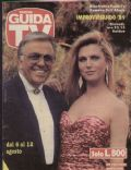 Guida TV Magazine [Italy] (6 August 1989)
