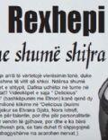 Dafina Rexhepi Magazine [Kosovo] (18 August 2010)