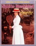Chris Evert on the cover of Sports Illustrated (United States) - December 1976