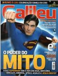 Brandon Routh on the cover of Galileu (Brazil) - July 2006