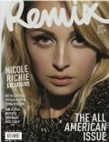 Nicole Richie on the cover of Remix (New Zealand) - December 2010