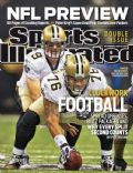 Drew Brees on the cover of Sports Illustrated (United States) - September 2010