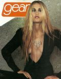 Leslie Bibb on the cover of Gear (United States) - February 2001