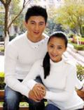 Nicky Wu and Ma ya Shu