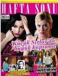 Ali Sunal, Demet Sener, Merve Bolugur, Sinem Kobal on the cover of Haftasonu (Turkey) - October 2010