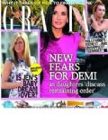 Demi Moore, Jennifer Aniston on the cover of Grazia (United Kingdom) - July 2012