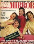 Dianne Lennon on the cover of TV Radio Mirror (United States) - June 1962