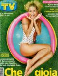 Michelle Hunziker on the cover of TV Sorrisi E Canzoni (Italy) - July 2006