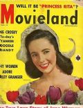Elizabeth Taylor on the cover of Movieland (United States) - March 1949