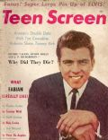 Fabian on the cover of Teen Screen (United States) - April 1960
