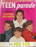 Dianne Lennon, Janet Lennon, Kathy Lennon, Peggy Lennon on the cover of Teen Parade (United States) - February 1961