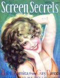 Edwin Bower Hesser, Edwin Bower Hesser, Lili Damita on the cover of Screen Secrets (United States) - September 1929