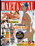Burak Yamanturk, Cansu Dere, Özge Özpirinççi, Ozge Ulusoy, Pinar Altug on the cover of Haftasonu (Turkey) - July 2014