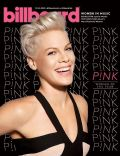 Pink on the cover of Billboard (United States) - December 2013