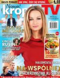 Malgorzata Socha on the cover of Kropka TV (Poland) - January 2014