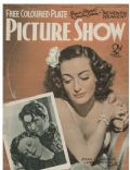Joan Crawford on the cover of Picture Show (United Kingdom) - October 1937