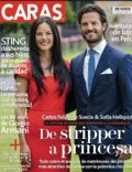 Prins Carl Philip, Sofia Hellqvist on the cover of Caras (Peru) - July 2014