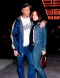 Tom Morello and Denise Luiso