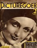 Carole Lombard on the cover of Picturegoer (United Kingdom) - March 1932
