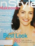 Kristin Davis on the cover of Instyle Makeover (United States) - June 2002