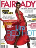 Lira on the cover of Fairlady (South Africa) - February 2011