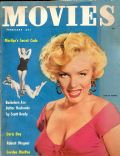 Marilyn Monroe on the cover of Movies (United States) - February 1953