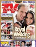 TV Times Magazine [United Kingdom] (23 April 2011)