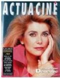 Catherine Deneuve on the cover of Actua Cine (France) - May 1991