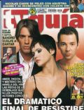 Celeste Cid, Fabián Vena, Pablo Echarri on the cover of TV Guia (Argentina) - November 2003