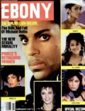 Prince on the cover of Ebony (United States) - November 1987