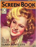 Miriam Hopkins on the cover of Screen Book (United States) - January 1933