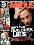 Robert Pattinson on the cover of Famous (Australia) - August 2010