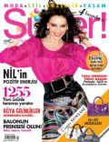 Nil Karaibrahimgil on the cover of Super (Turkey) - May 2008