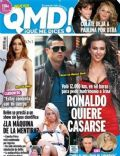 Cristiano Ronaldo, Irina Shayk, Sara Carbonero on the cover of Qmd (Spain) - February 2011