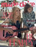 Angela Lindvall on the cover of Marie Claire (Italy) - January 2014