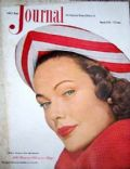 Gene Tierney on the cover of Ladies Home Journal (United States) - March 1949