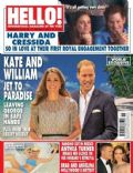 Kate Middleton, Prince William Windsor on the cover of Hello (United Kingdom) - March 2014