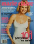 Rebecca Romijn on the cover of Marie Claire (Poland) - September 2002