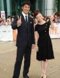 Aya Ueto and Hiroyuki Igarashi