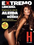 Aleida Núñez on the cover of H Extremo (Mexico) - January 2007