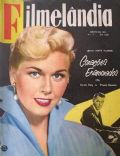 Doris Day on the cover of Filmelandia (Brazil) - June 1955