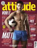 Matt Jarvis on the cover of Attitude (United Kingdom) - January 2013