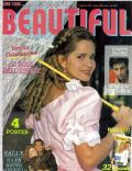 Grecia Colmenares on the cover of Beautiful People (Italy) - August 1993