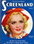Miriam Hopkins on the cover of Screenland (United States) - February 1936