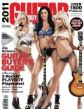 Jayde Nicole, Kara Monaco, Sara Jean Underwood on the cover of Guitar Buyers (United States) - July 2010