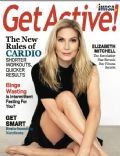 Elizabeth Mitchell on the cover of Get Active (United States) - April 2014