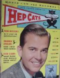 Dick Clark on the cover of Hep Cats (United States) - March 1959